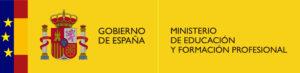 Logotip del Ministerio de Educación y Formación Profesional